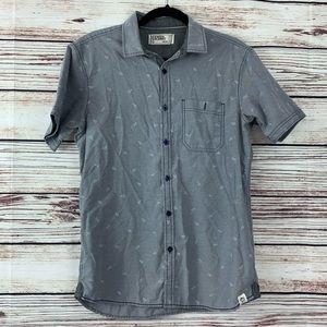 Men's Free Planet Casual Button Down Shirt